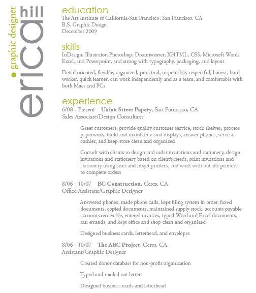Designer Resume Going Professional Pinterest - tech support resumeresume business cards