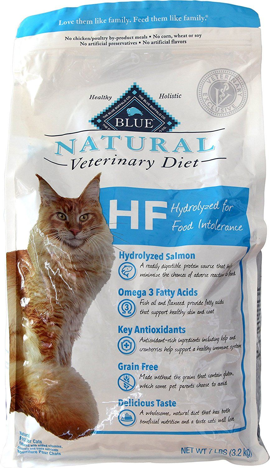 Blue Natural Veterinary Diet HF Hydrolyzed for Food