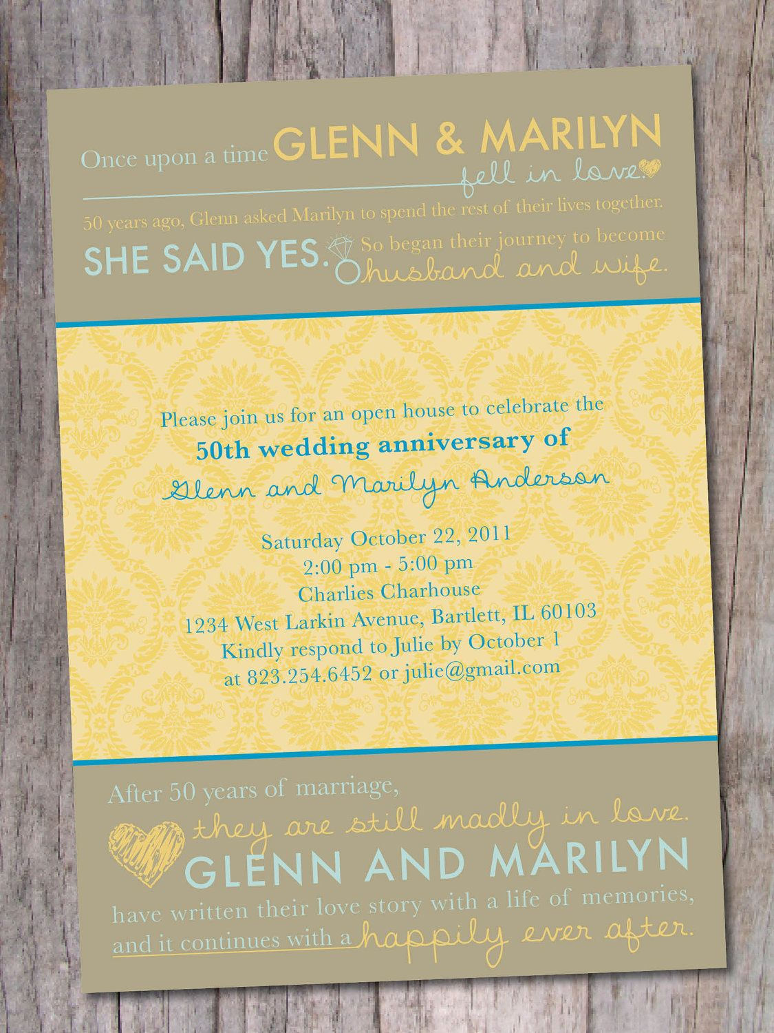 Anniversary party invitation 20th 30th 40th 50th 60th love anniversary party invitation 20th 30th 40th 50th 60th love story stopboris Gallery