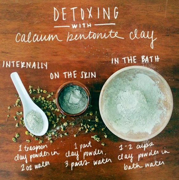 Calcium Bentonite Clay detox
