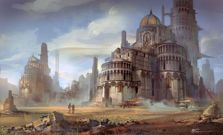 Fantasy Desert City | ...