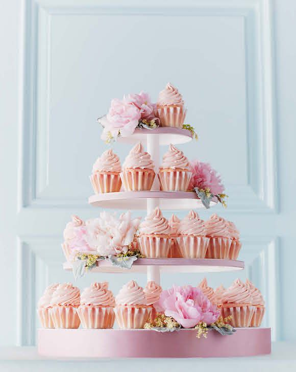Pink Champagne Cupcakes -- recipe