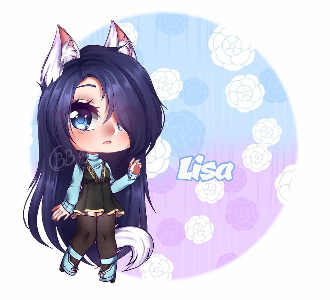 Gachalife Gachalifeedit Gchalifeoc Emanuellypsicopatagames12 Anime Wolf Girl Kawaii Drawings Cute Anime Chibi
