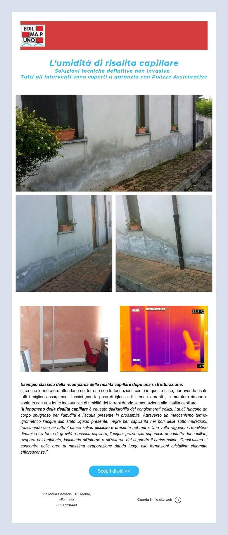 Scale Di Risalita Casa l'umidità di risalita capillare soluzioni tecniche