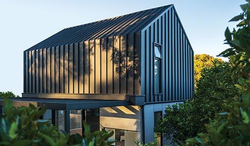 Colorbond 174 Steel Matt Houses House Cladding Facade