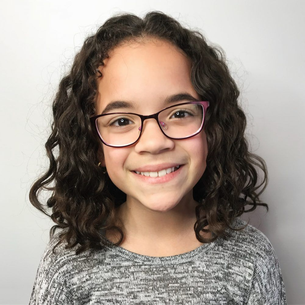 9 Cutest Hairstyles for Curly Hair Girls   Little Girls, Toddlers ...