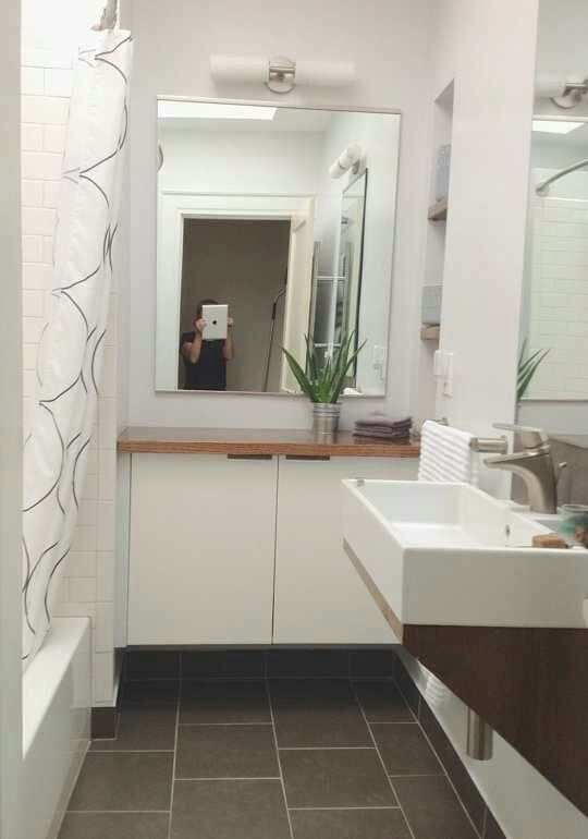 This Makeover Is Genius With Images Simple Bathroom