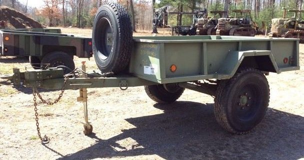 Pribbs Steel M105A3 Cargo Military Trailer | Military