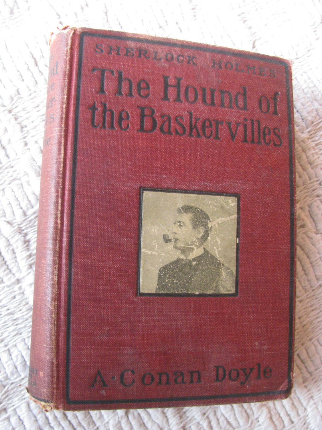 1902 First Edition 4th Impression The Hound Of Baskervilles A Etsy Conan Doyle Sherlock Holmes Holmes