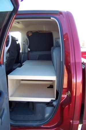 Captivating Building A Combination RV Cabinet, RV Dog Deck Improves The RV Storage And  Utility Of Our Truck