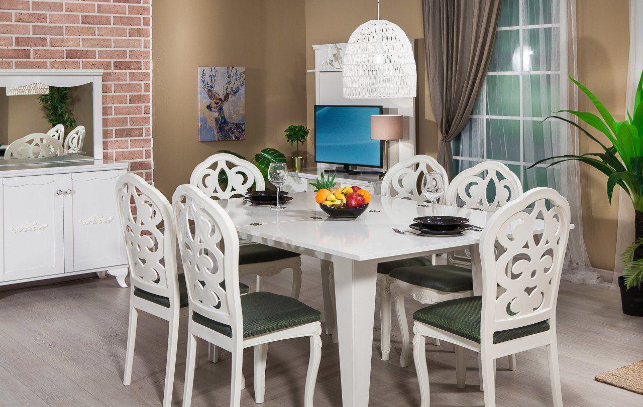 Bianco Yemek Odası Takımı - Yeni Sezon