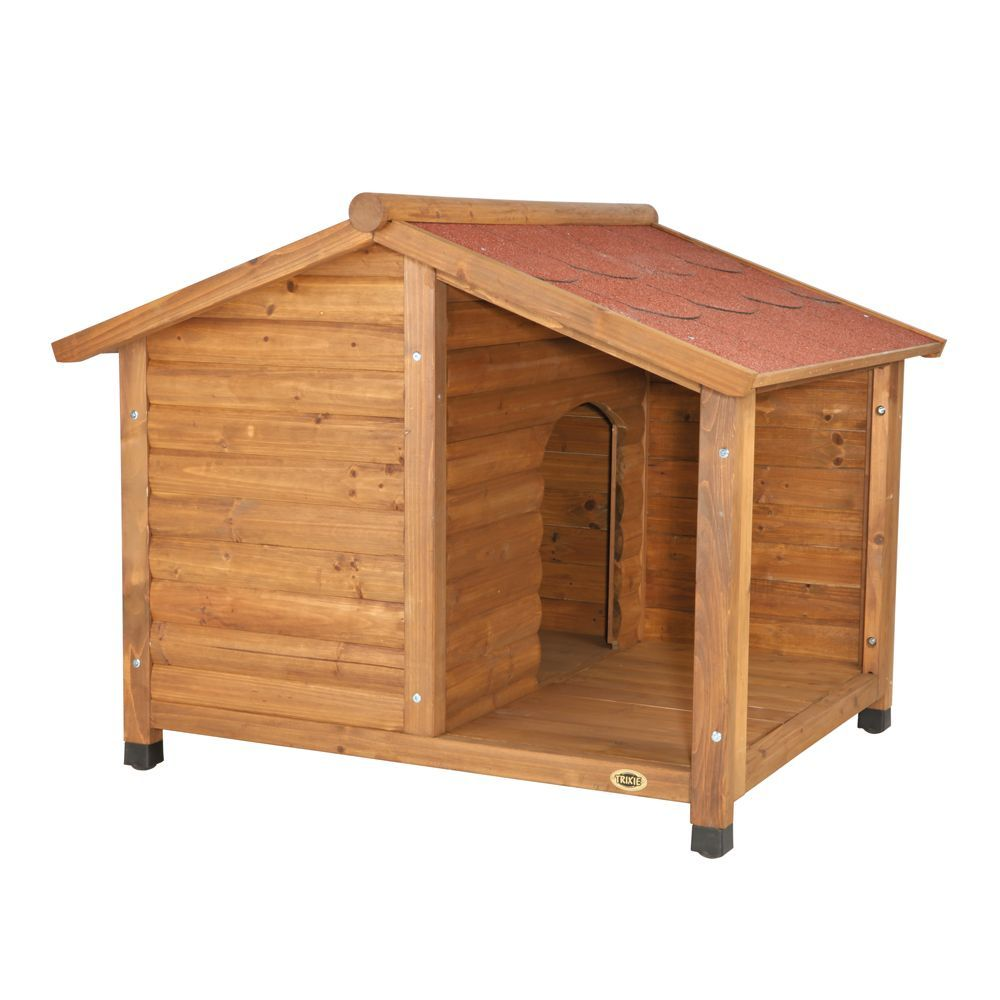 Trixie S Rustic Dog House Rustic Dog Houses Large Dog House
