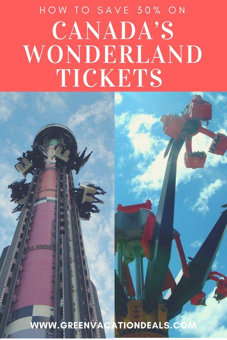 Save 30% on Canada\'s Wonderland Tickets Toronto Area | Travel ...