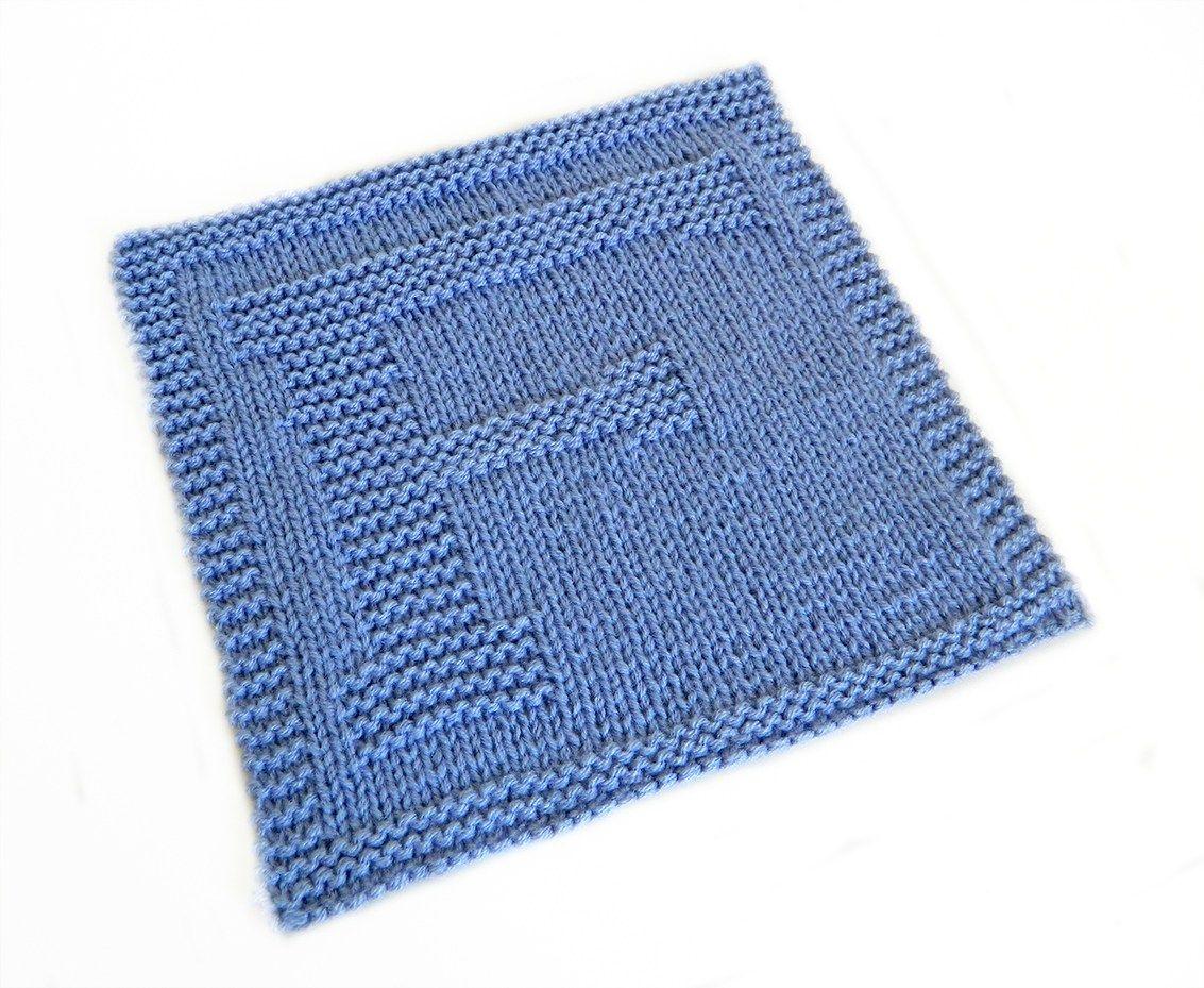ALPHABET DISHCLOTH: F - OhLaLana   Knitting blogs ...