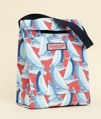 Vv Sailboats Lunch Bag