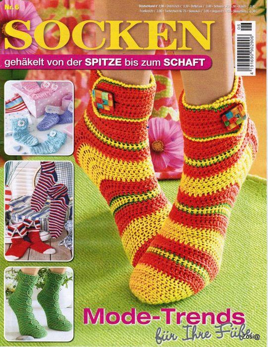 winter-fashion-socks-crochet-magazine | Libros y revistas ...