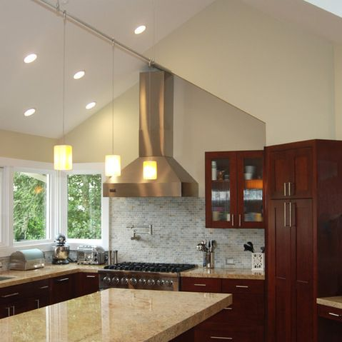 Vaulted Ceiling Kitchen Design Ideas Pictures Remodel And