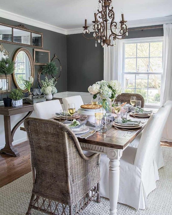 12 Rustic Dining Room Ideas: 12+ Ineffable Wainscoting Rustic Ideas In 2020