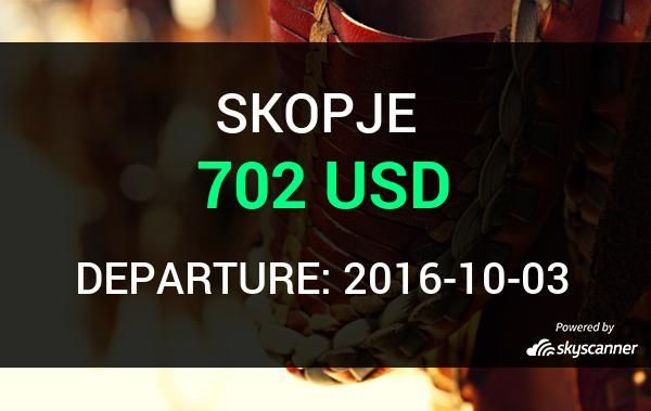 Flight from Houston to Skopje by Turkish Airlines    BOOK NOW >>>
