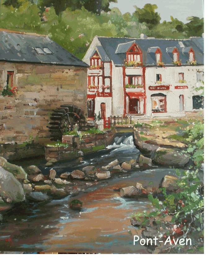 Tableau peinture huile tableau peinture huile sur toile for Paysage peinture