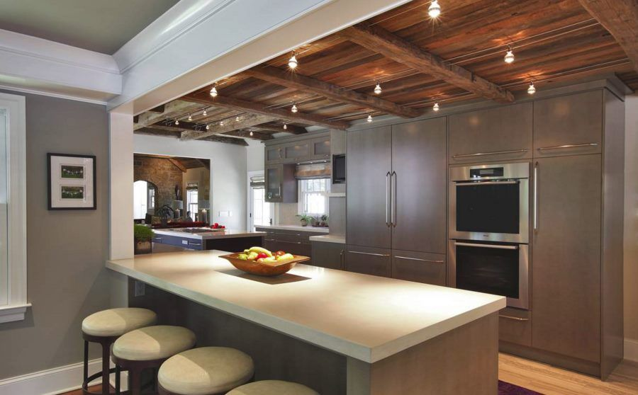 20 Rooms With Ceiling Spotlights Kitchen Ceiling Design Kitchen Ceiling Contemporary Kitchen