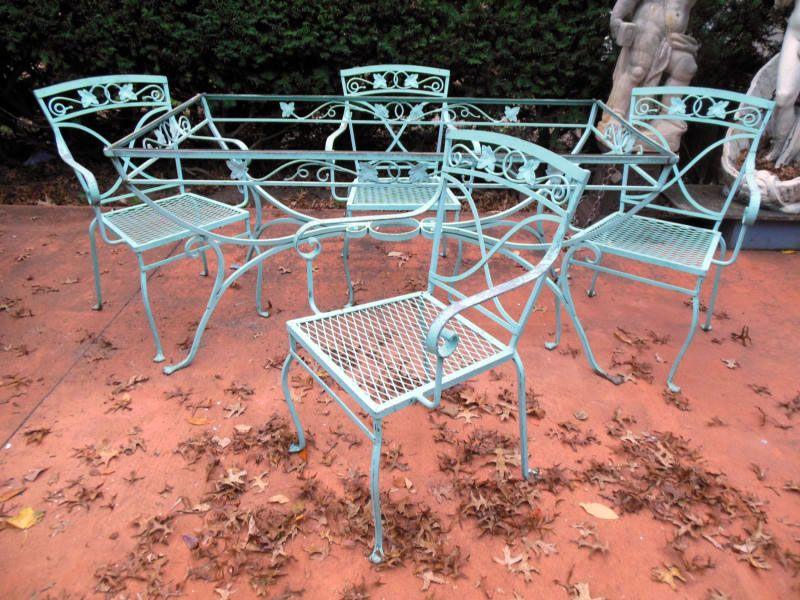 Merveilleux Salterini Dining Set, Mt Vernon (Joan Bogart.com)