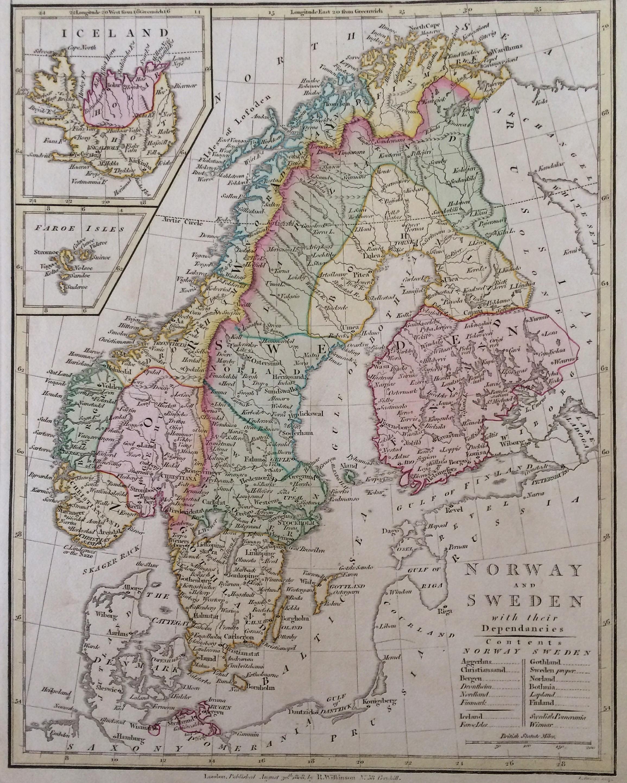 Scandinavia Norway And Sweden