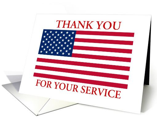 Thank You For Your Service American Flag Patriotic Card In 2020 Welcome Home Cards Cards For Friends Custom Cards