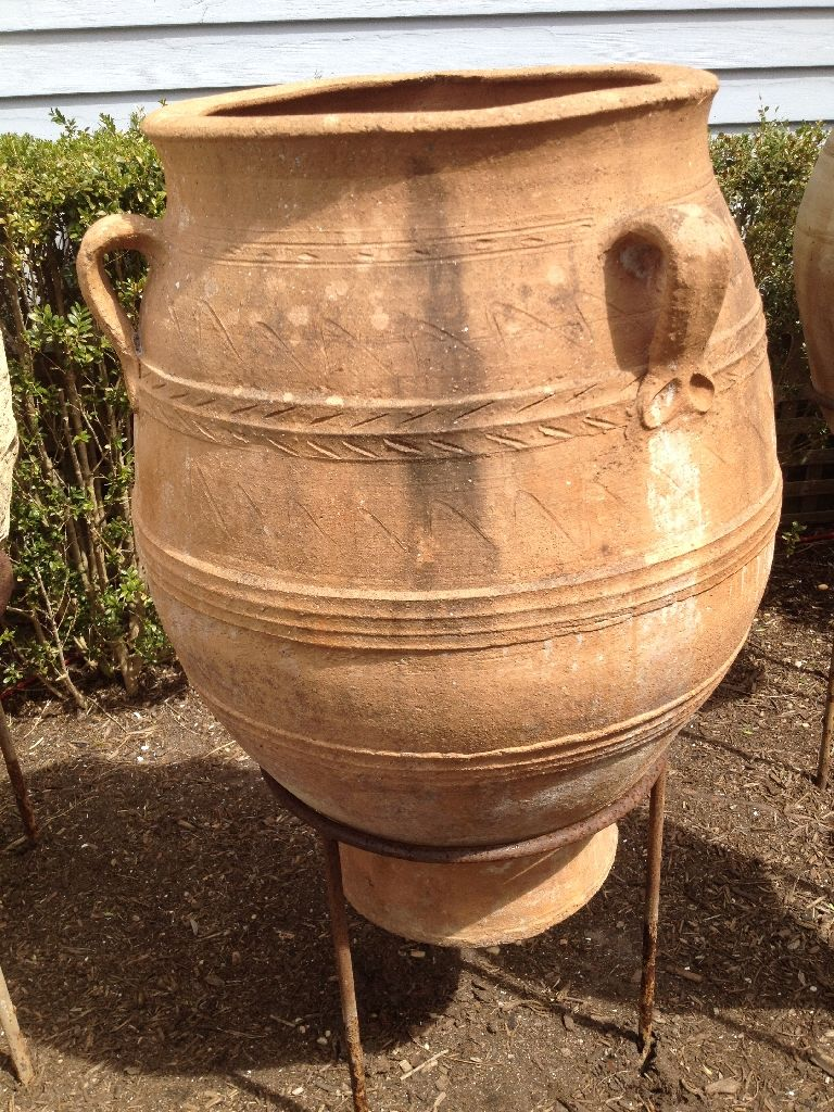 terracotta olive jars for sale - Google Search | Olive jar ...