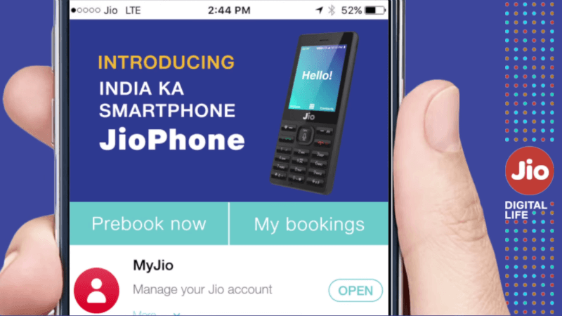 Exclusive Jio Phone PreBooking is Starting from Aug 24