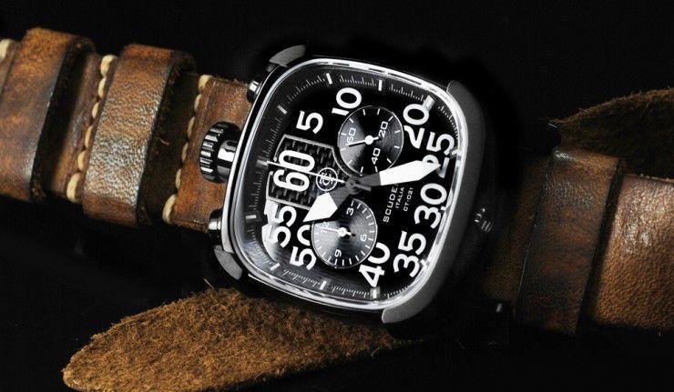 Scuderia Scrambler Biker Watch | Bijoux montre, Montre