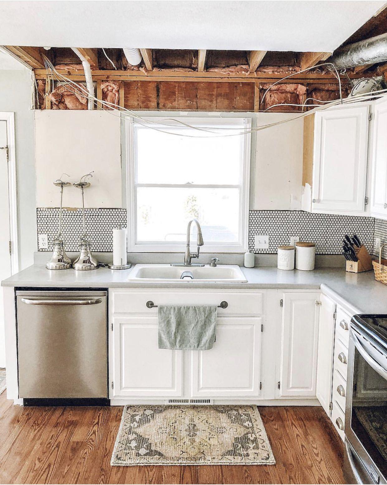 How to renovate your kitchen. DIY kitchen Reno. Its demo ...