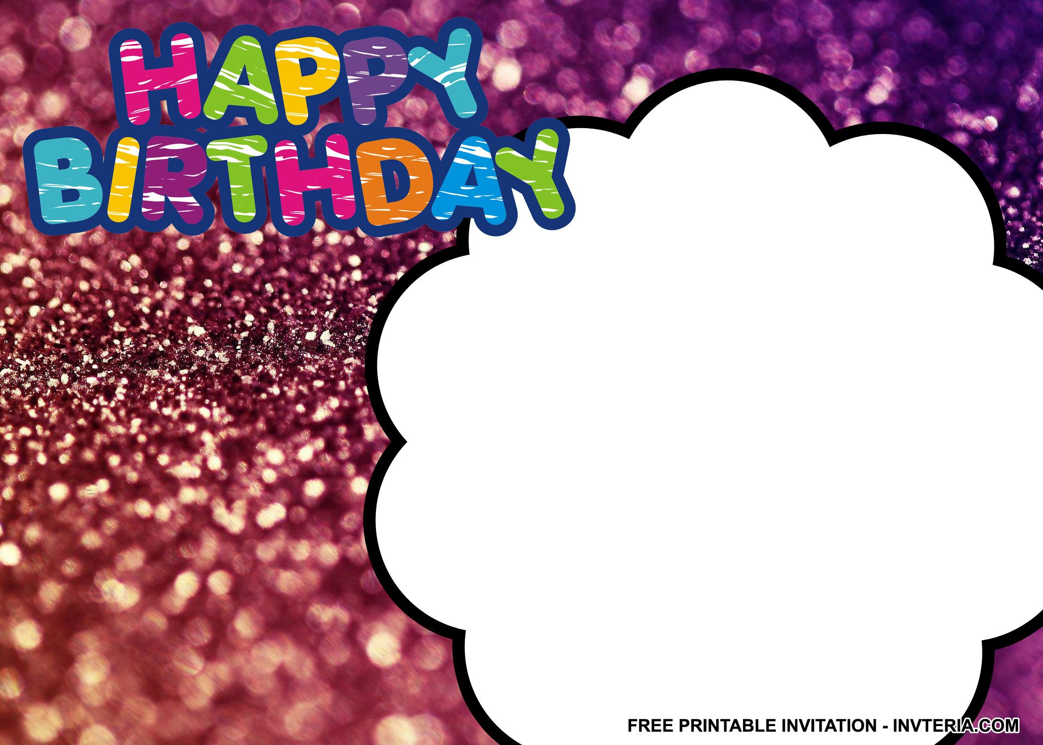 COOL BEST FREE PRINTABLE MAKE YOUR OWN BIRTHDAY INVITATIONS IDEA