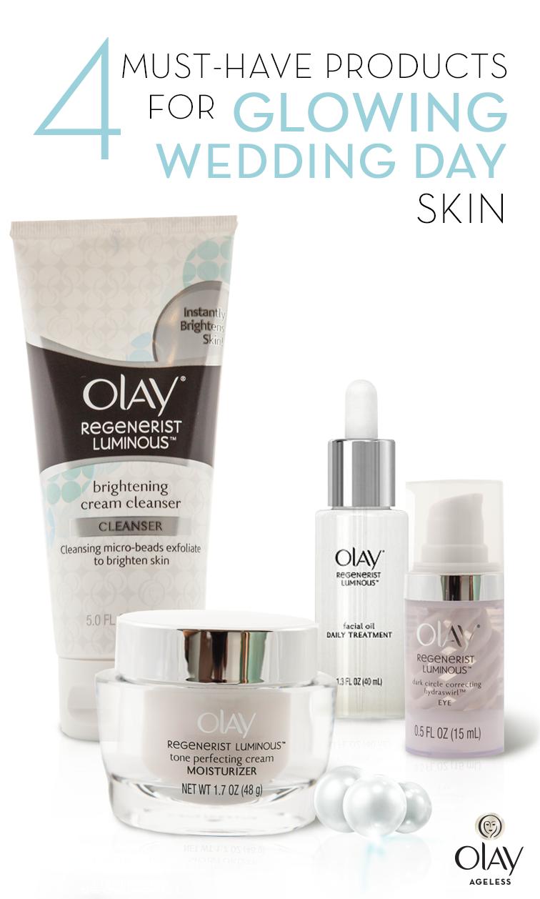 Wedding Day Skin Your Best Skin For Your Big Day Brightening Cream Olay Regenerist Beauty