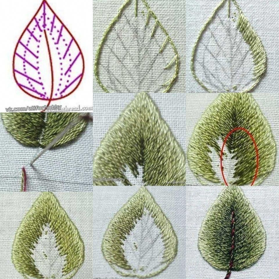 free hand embroidery stitches guide #Handembroiderystitches