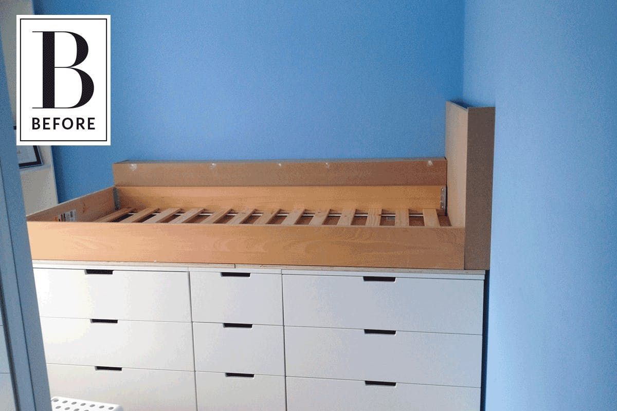Before & After: An IKEA Hack Adds Style & Storage to a ...