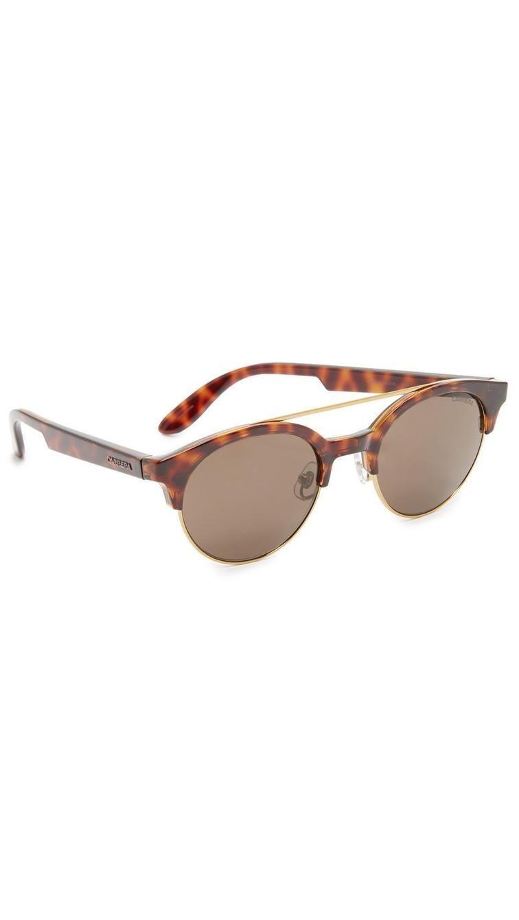 8c34b5496c7 Carrera Double Bar Round Sunglasses