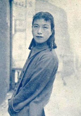 Lan Ping, possibly in Shanghai, during the 1930s. | History