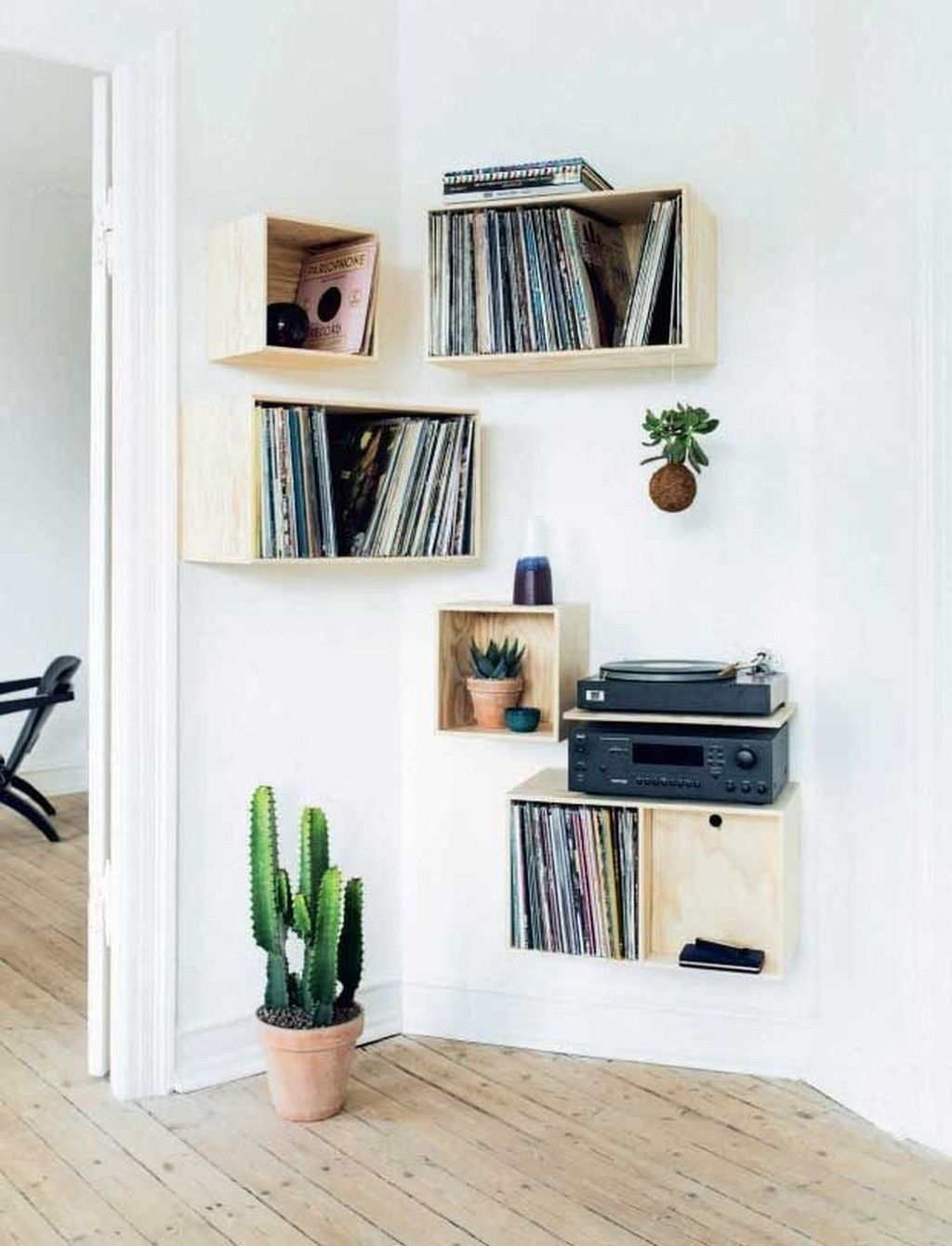 superb corner floating shelves ideas for your room