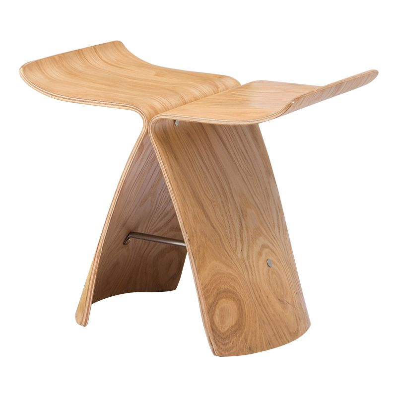 Butterfly Stool Made From Ash Plywood 3 Colors Natural Black Walnut Stool Chair For Living Room Bedroom Wooden Stoo Walnut Stools Wooden Stools Wood Butterfly