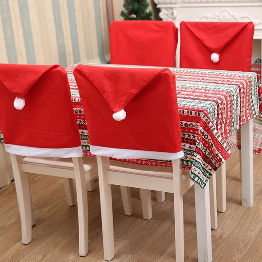 Christmas Chair Covers Geekaget Christmas Chair Covers Christmas Chair Chair Back Covers