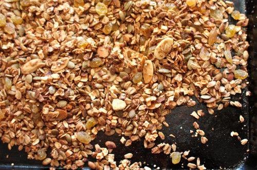 Delicious Chai Granola recipe - made easy in a crockpot.