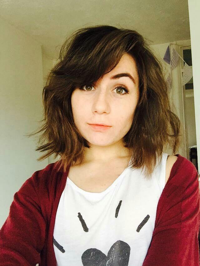 Long bob choppy layers cute hair teen doddleoddle