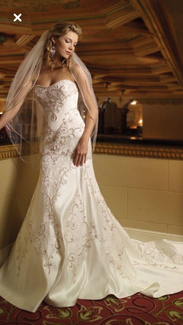Size 6 wedding dress  Kathy Ireland Size  Wedding Gown  невеста  Pinterest  Kathy