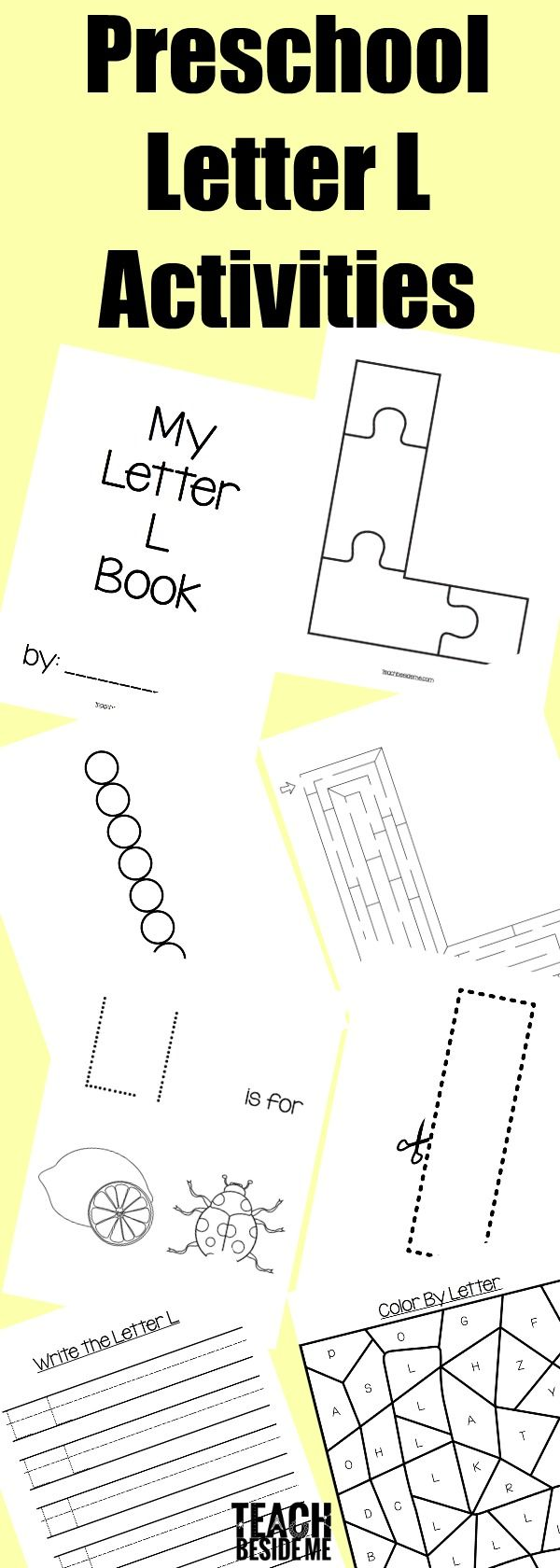 Letter Of The Week Preschool Letter L Activities Preschool Letters Letter L Lettering [ 1680 x 600 Pixel ]