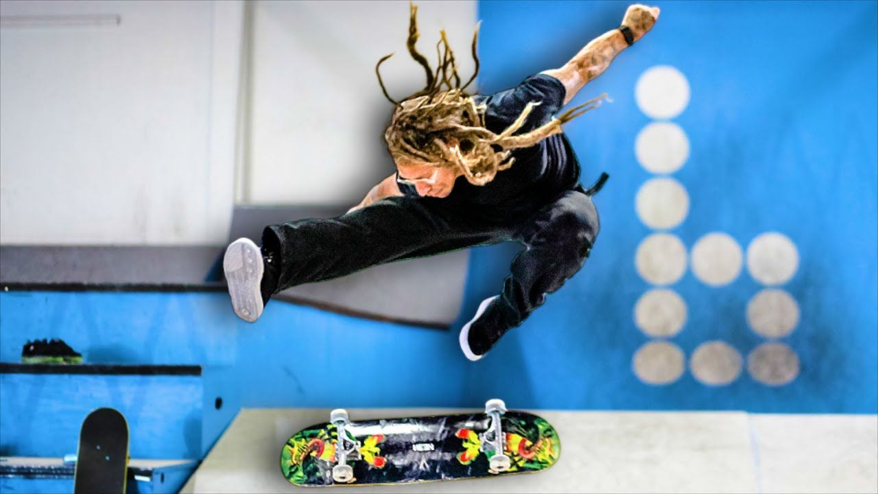 How To Heelflip The Easiest Way With Neen Williams Braille Skateboarding Williams Skateboard Email Branding