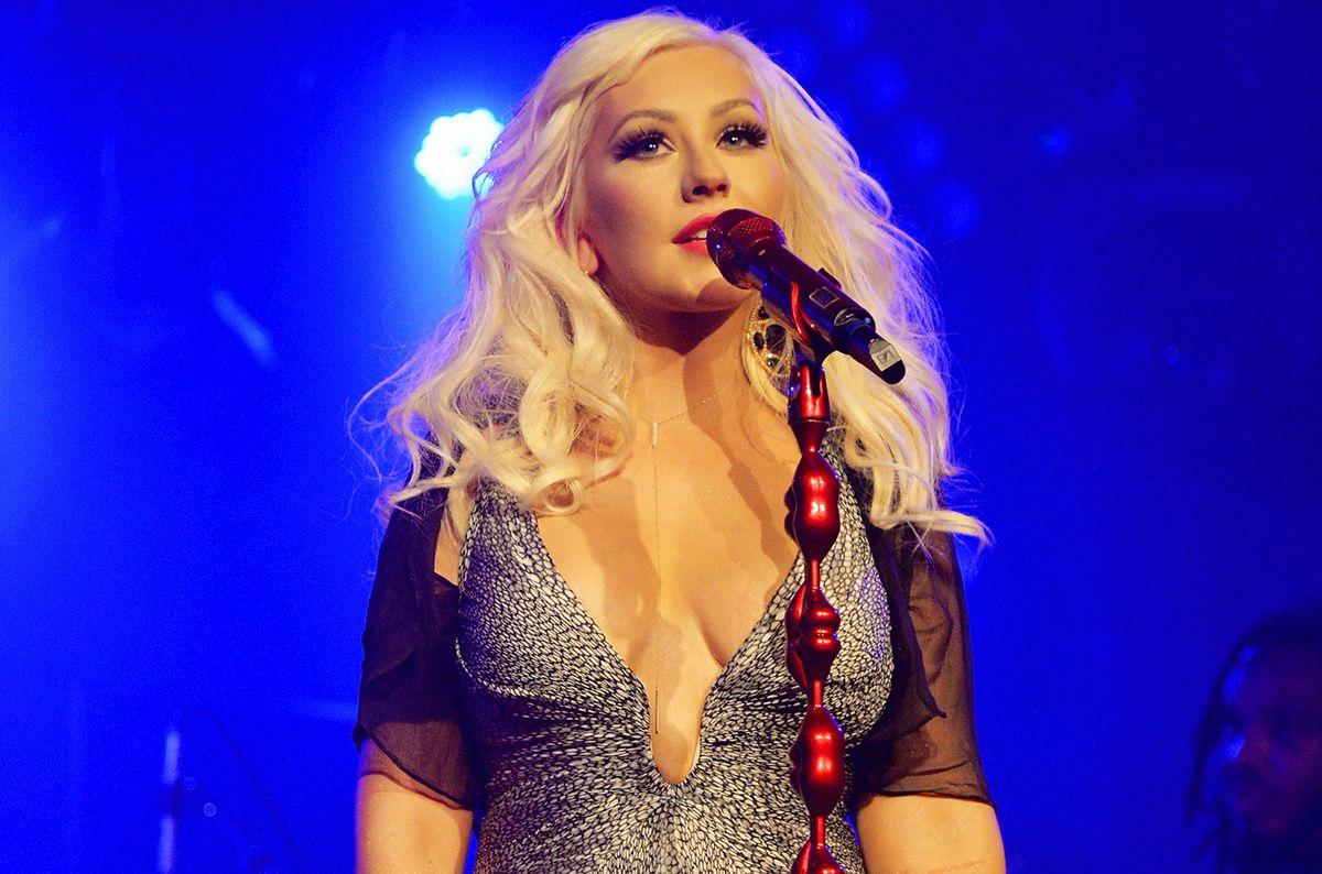 Christina Aguilera Celebrates Fiance Matthew Rutlers