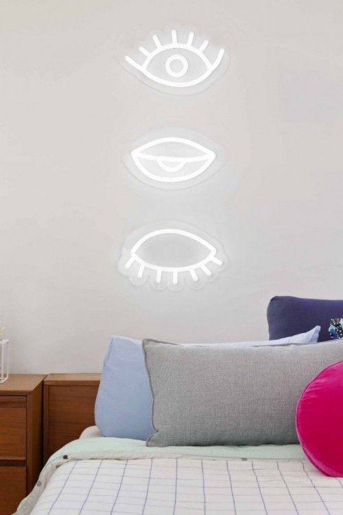 kids rooms decor neon lighting electric confetti want misc