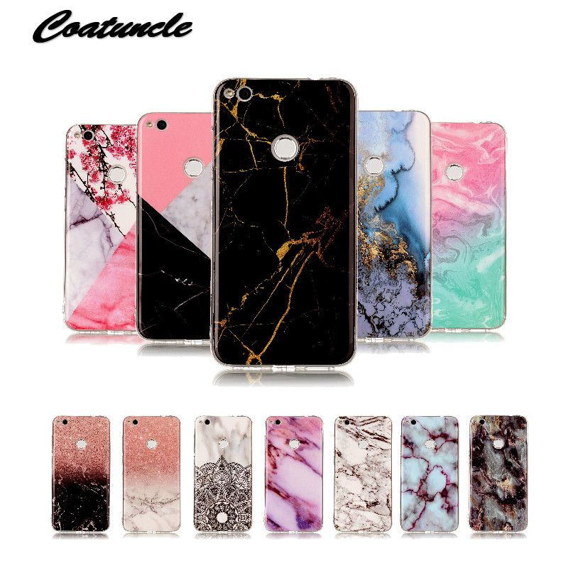 Luxury Marble Stone Case Sfor Huawei P8 Lite 2017 Case Soft Silicone Tpu Rubber Back Cover Phone Case For Hua Stone Case Cool Phone Cases Aesthetic Phone Case