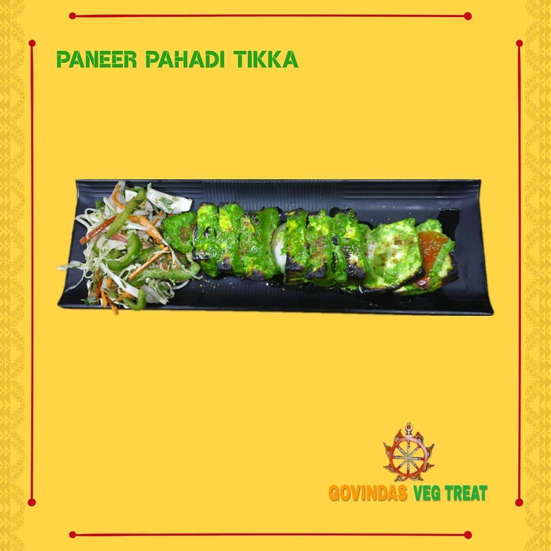 Paneer Pahadi Tikka😋  Order Now @swiggyindia @zomatoin